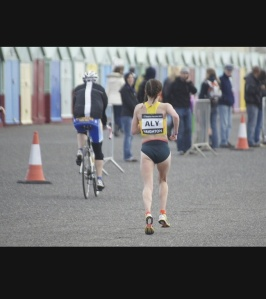 Final few miles of Brighton Marathon 2013