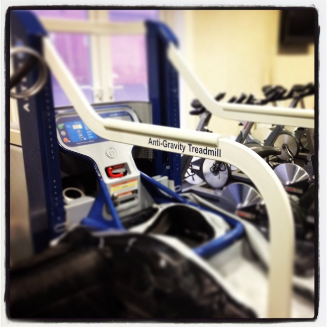 Alter G anti-gravity treadmill - an amazing piece of equipment