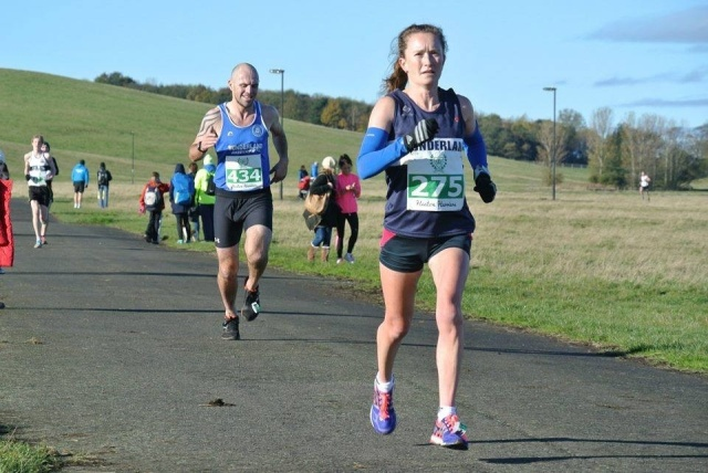 Heaton Memorial 10k - nice win on my first race back