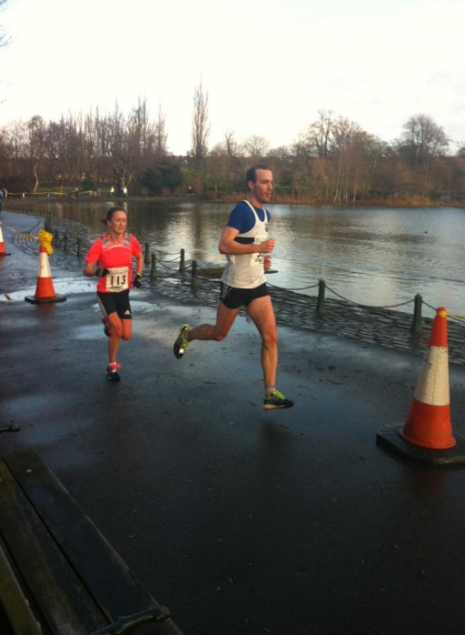 Mid way through the Saltwell 10k