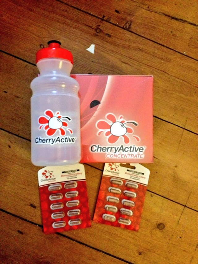 Cherry Active package to help me recover from hard training