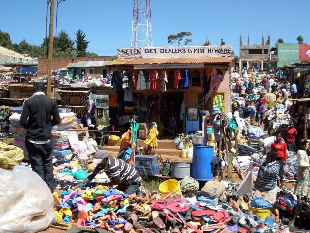 Market day in Iten