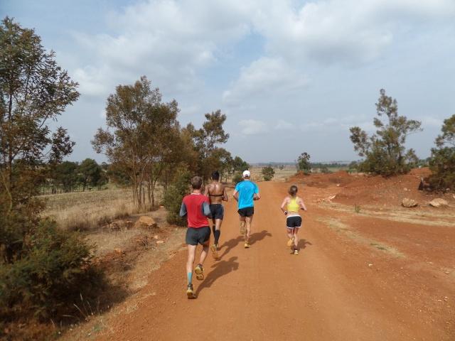 Sunday long run with the boys
