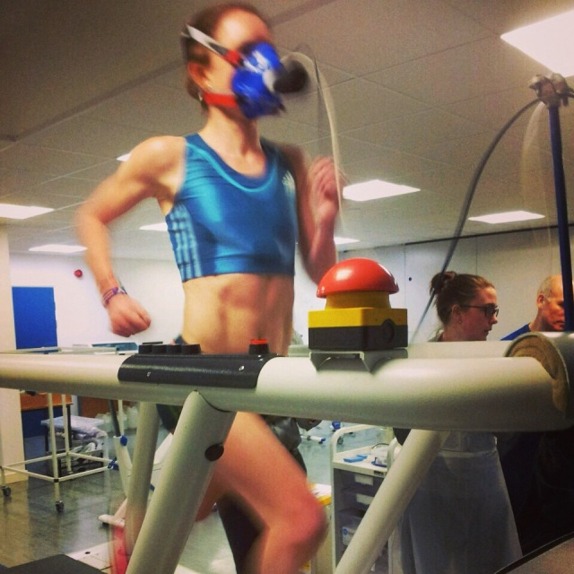 Pre Kenya lab testing thanks to Sunderland University Sport and Exercise Sciences department
