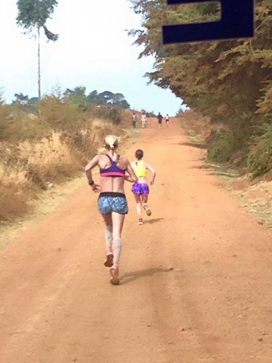 Long run with Paula