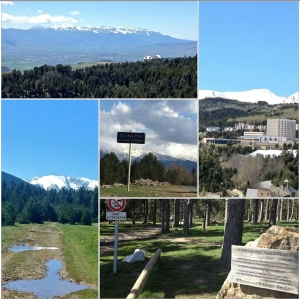 The beautful trails of Font Romeu - a runners paradise