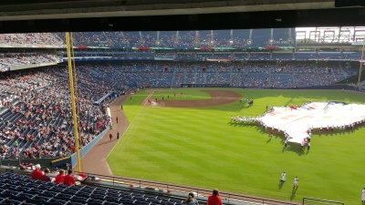 A night at the baseball thanks to Atlanta Track Club