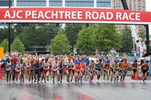 Start of the Peachtree Cup, Atlanta