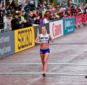 The finish line is always a welcome sight at the end of a tough race